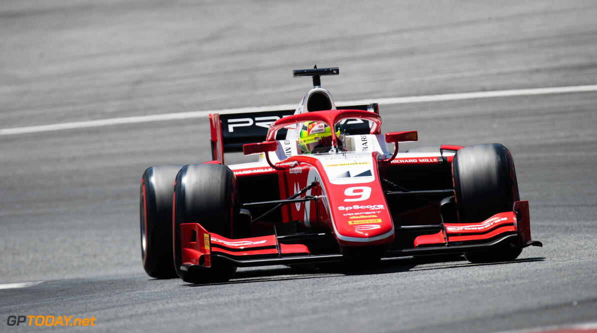 FIA Formula 2 RED BULL RING, AUSTRIA - JUNE 28: Mick Schumacher (DEU, PREMA RACING) during the Spielberg at Red Bull Ring on June 28, 2019 in Red Bull Ring, Austria. (Photo by Joe Portlock / LAT Images / FIA F2 Championship) FIA Formula 2 Joe Portlock  Austria  FIA Formula 2