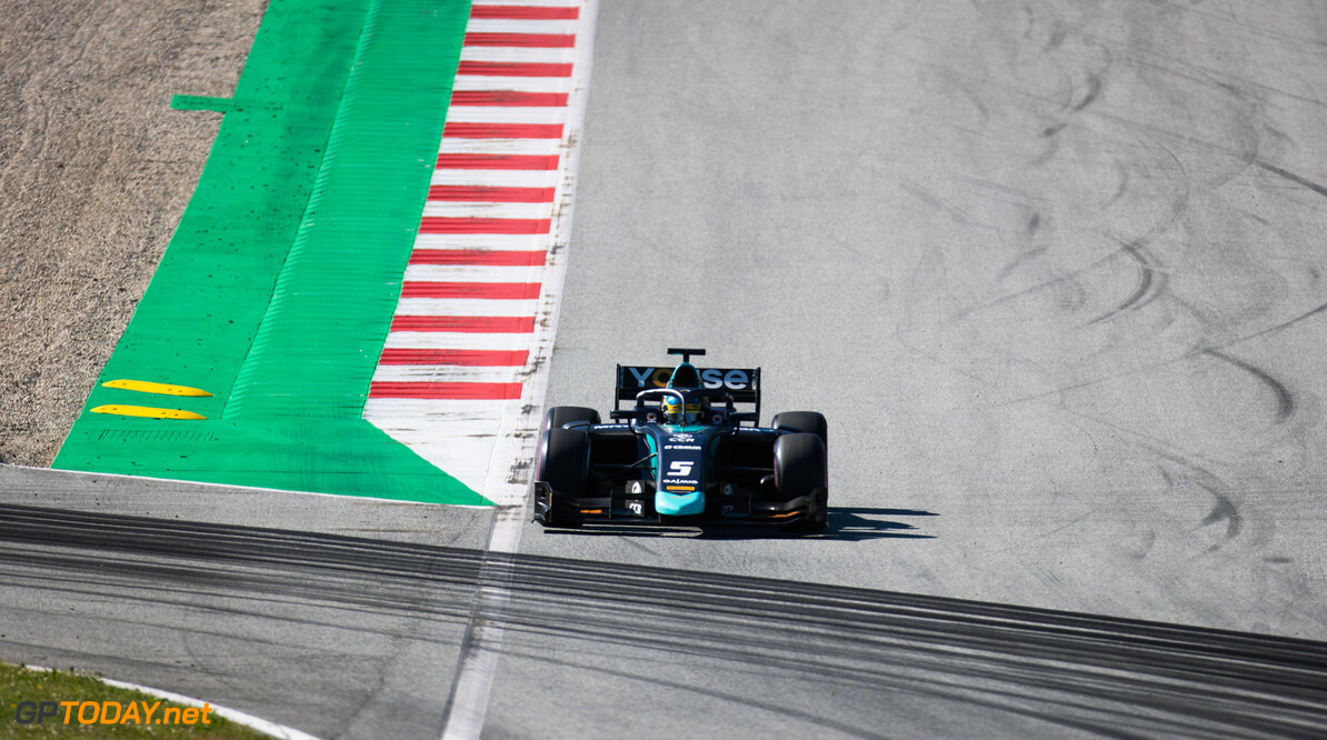FIA Formula 2 RED BULL RING, AUSTRIA - JUNE 28: Sergio Sette Camara (BRA, DAMS) during the Spielberg at Red Bull Ring on June 28, 2019 in Red Bull Ring, Austria. (Photo by Joe Portlock / LAT Images / FIA F2 Championship) FIA Formula 2 Joe Portlock  Austria  FIA Formula 2