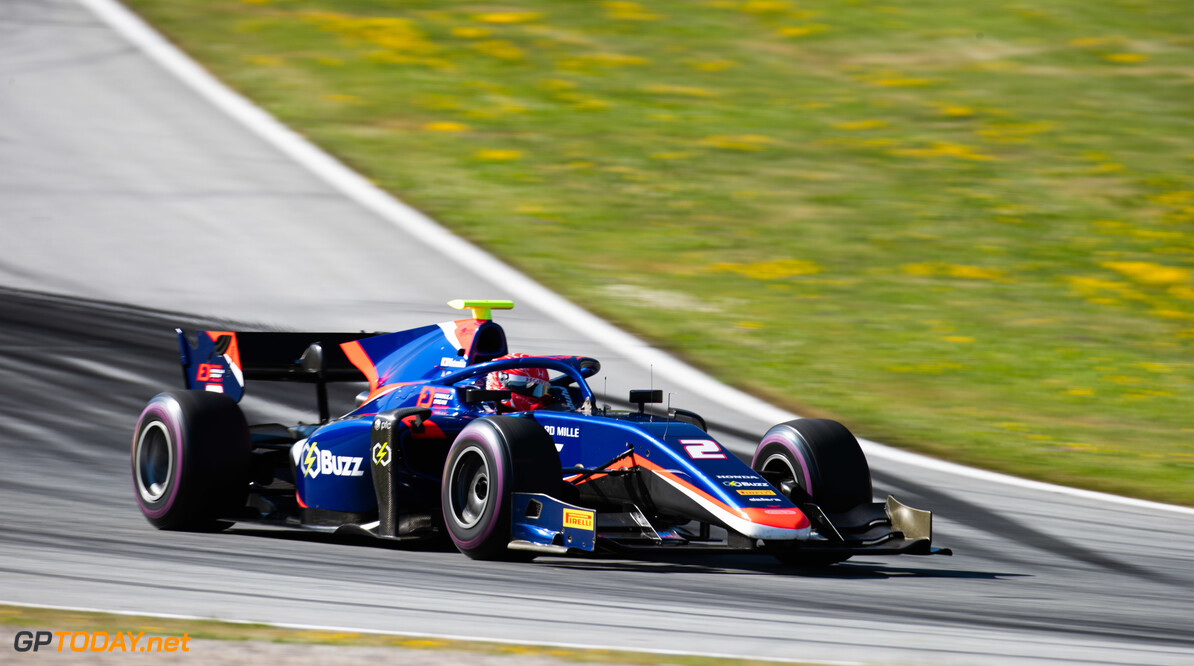 FIA Formula 2 RED BULL RING, AUSTRIA - JUNE 28: Nobuharu Matsushita (JPN, CARLIN) during the Spielberg at Red Bull Ring on June 28, 2019 in Red Bull Ring, Austria. (Photo by Joe Portlock / LAT Images / FIA F2 Championship) FIA Formula 2 Joe Portlock  Austria  FIA Formula 2