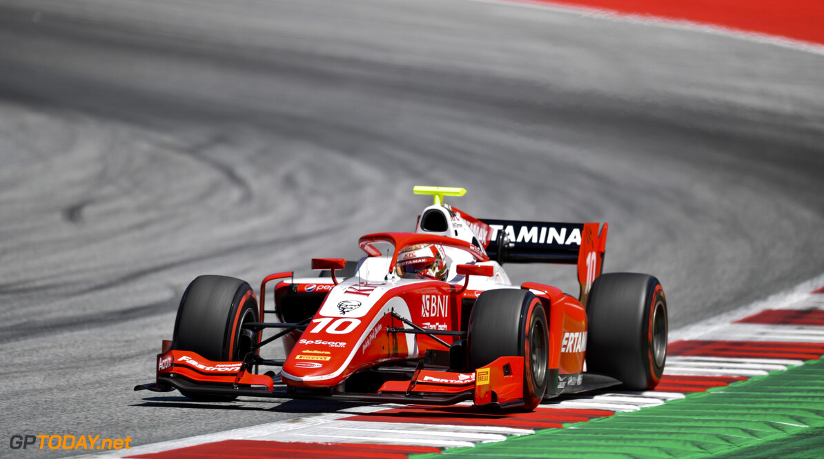 FIA Formula 2 RED BULL RING, AUSTRIA - JUNE 28: Sean Gelael (IDN,PREMA RACING) during the Spielberg at Red Bull Ring on June 28, 2019 in Red Bull Ring, Austria. (Photo by Jerry Andre / LAT Images / FIA F2 Championship) FIA Formula 2 Jerry Andre  Austria  Action