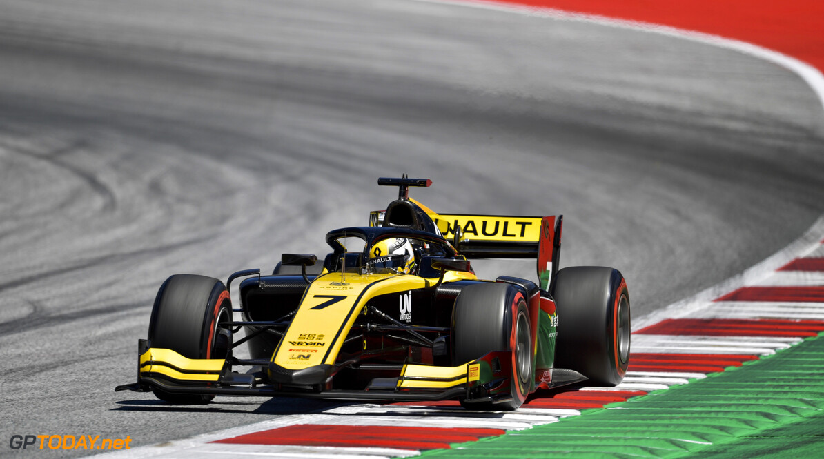 FIA Formula 2 RED BULL RING, AUSTRIA - JUNE 28: Guanyu Zhou (CHN, UNI VIRTUOSI) during the Spielberg at Red Bull Ring on June 28, 2019 in Red Bull Ring, Austria. (Photo by Jerry Andre / LAT Images / FIA F2 Championship) FIA Formula 2 Jerry Andre  Austria  Action