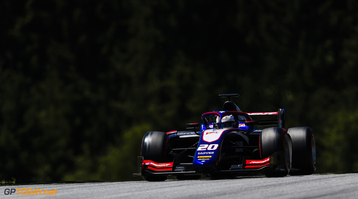 FIA Formula 2 RED BULL RING, AUSTRIA - JUNE 28: Giuliano Alesi (FRA, TRIDENT) during the Spielberg at Red Bull Ring on June 28, 2019 in Red Bull Ring, Austria. (Photo by Jerry Andre / LAT Images / FIA F2 Championship) FIA Formula 2 Jerry Andre  Austria  Action
