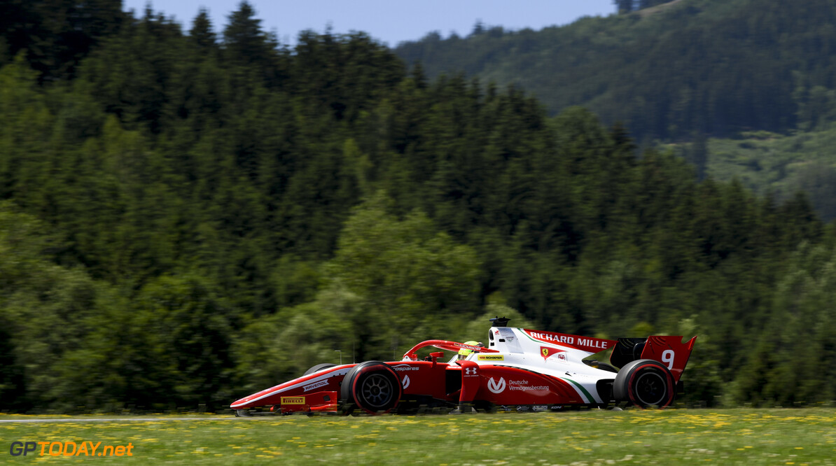 FIA Formula 2 RED BULL RING, AUSTRIA - JUNE 28: Mick Schumacher (DEU, PREMA RACING) during the Spielberg at Red Bull Ring on June 28, 2019 in Red Bull Ring, Austria. (Photo by Jerry Andre / LAT Images / FIA F2 Championship) FIA Formula 2 Jerry Andre  Austria  Action