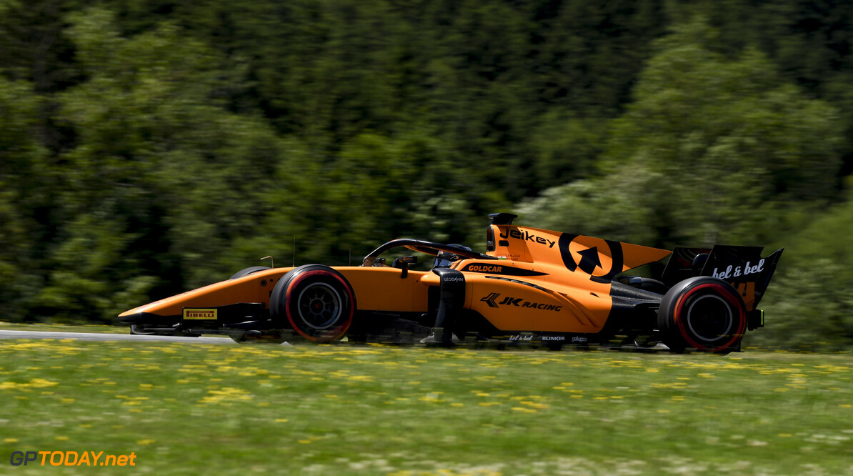 FIA Formula 2 RED BULL RING, AUSTRIA - JUNE 28: Arjun Maini (IND, CAMPOS RACING) during the Spielberg at Red Bull Ring on June 28, 2019 in Red Bull Ring, Austria. (Photo by Jerry Andre / LAT Images / FIA F2 Championship) FIA Formula 2 Jerry Andre  Austria  Action