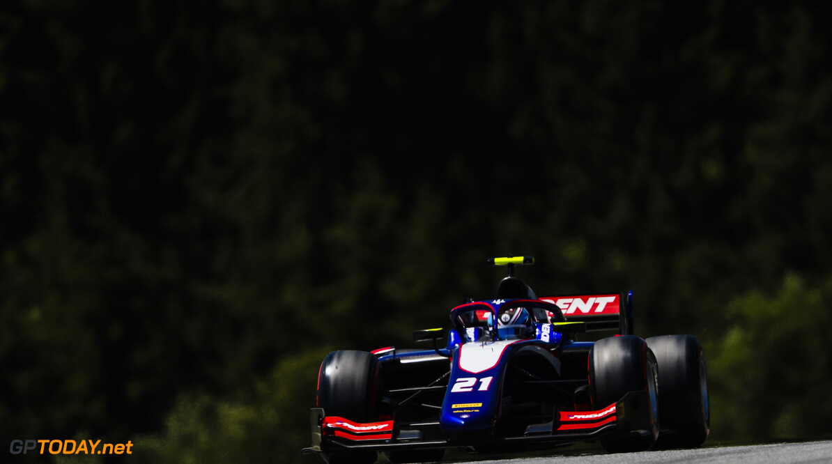 FIA Formula 2 RED BULL RING, AUSTRIA - JUNE 28: Ryan Tveter (USA, TRIDENT) during the Spielberg at Red Bull Ring on June 28, 2019 in Red Bull Ring, Austria. (Photo by Jerry Andre / LAT Images / FIA F2 Championship) FIA Formula 2 Jerry Andre  Austria  Action