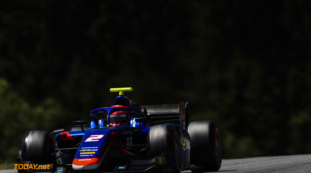 FIA Formula 2 RED BULL RING, AUSTRIA - JUNE 28: Nobuharu Matsushita (JPN, CARLIN) during the Spielberg at Red Bull Ring on June 28, 2019 in Red Bull Ring, Austria. (Photo by Jerry Andre / LAT Images / FIA F2 Championship) FIA Formula 2 Jerry Andre  Austria  Action