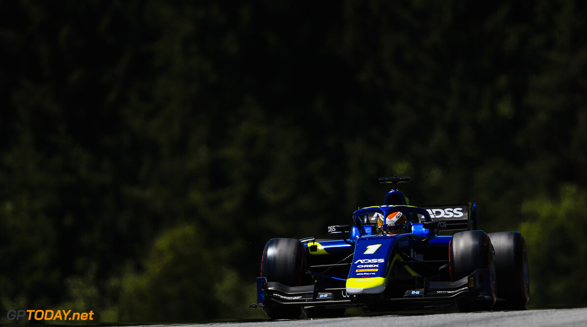 FIA Formula 2 RED BULL RING, AUSTRIA - JUNE 28: Louis Deletraz (CHE, CARLIN) during the Spielberg at Red Bull Ring on June 28, 2019 in Red Bull Ring, Austria. (Photo by Jerry Andre / LAT Images / FIA F2 Championship) FIA Formula 2 Jerry Andre  Austria  Action