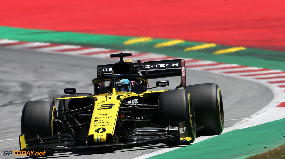 Formula One World Championship Daniel Ricciardo (AUS), Renault F1 Team  29.06.2019. Formula 1 World Championship, Rd 9, Austrian Grand Prix, Spielberg, Austria, Qualifying Day. - www.xpbimages.com, EMail: requests@xpbimages.com - copy of publication required for printed pictures. Every used picture is fee-liable. (C) Copyright: Charniaux / XPB Images Motor Racing - Formula One World Championship - Austrian Grand Prix - Qualifying Day - Spielberg, Austria xpbimages.com Spielberg Austria  Formel1 Formel F1 Formula 1 Formula1 GP Grand Prix one Circuit Austria Austrian Spielberg Zeltweg Saturday June 29 06 6 2019 Practice Action Track