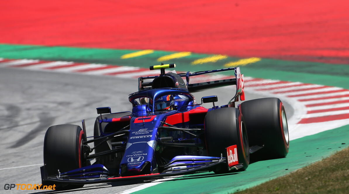 Formula One World Championship Alexander Albon (THA), Scuderia Toro Rosso  29.06.2019. Formula 1 World Championship, Rd 9, Austrian Grand Prix, Spielberg, Austria, Qualifying Day. - www.xpbimages.com, EMail: requests@xpbimages.com - copy of publication required for printed pictures. Every used picture is fee-liable. (C) Copyright: Charniaux / XPB Images Motor Racing - Formula One World Championship - Austrian Grand Prix - Qualifying Day - Spielberg, Austria xpbimages.com Spielberg Austria  Formel1 Formel F1 Formula 1 Formula1 GP Grand Prix one Circuit Austria Austrian Spielberg Zeltweg Saturday June 29 06 6 2019 Practice Action Track