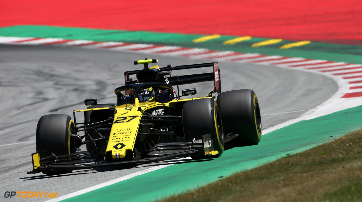 Formula One World Championship Nico Hulkenberg (GER), Renault Sport F1 Team  29.06.2019. Formula 1 World Championship, Rd 9, Austrian Grand Prix, Spielberg, Austria, Qualifying Day. - www.xpbimages.com, EMail: requests@xpbimages.com - copy of publication required for printed pictures. Every used picture is fee-liable. (C) Copyright: Charniaux / XPB Images Motor Racing - Formula One World Championship - Austrian Grand Prix - Qualifying Day - Spielberg, Austria xpbimages.com Spielberg Austria  Formel1 Formel F1 Formula 1 Formula1 GP Grand Prix one Circuit Austria Austrian Spielberg Zeltweg Saturday June 29 06 6 2019 Practice Action Track