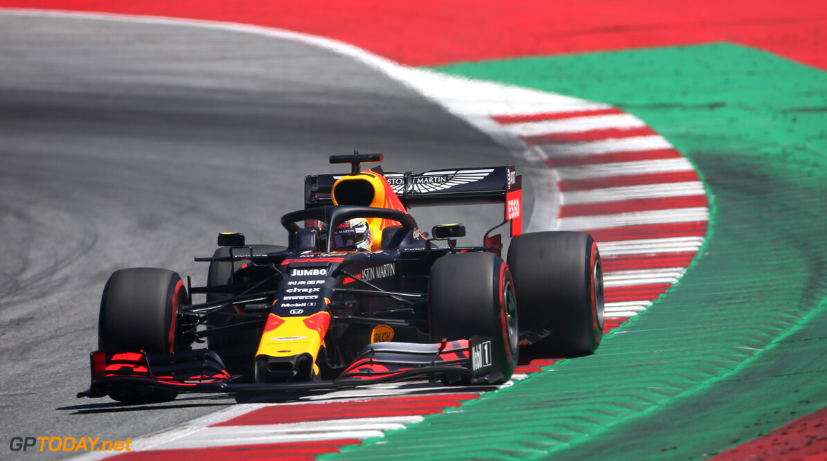 Formula One World Championship Max Verstappen (NLD), Red Bull Racing  29.06.2019. Formula 1 World Championship, Rd 9, Austrian Grand Prix, Spielberg, Austria, Qualifying Day. - www.xpbimages.com, EMail: requests@xpbimages.com - copy of publication required for printed pictures. Every used picture is fee-liable. (C) Copyright: Charniaux / XPB Images Motor Racing - Formula One World Championship - Austrian Grand Prix - Qualifying Day - Spielberg, Austria xpbimages.com Spielberg Austria  Formel1 Formel F1 Formula 1 Formula1 GP Grand Prix one Circuit Austria Austrian Spielberg Zeltweg Saturday June 29 06 6 2019 Practice Action Track