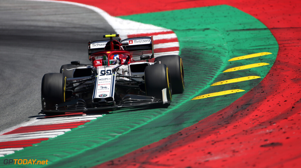 Formula One World Championship Antonio Giovinazzi (ITA), Alfa Romeo Racing  29.06.2019. Formula 1 World Championship, Rd 9, Austrian Grand Prix, Spielberg, Austria, Qualifying Day. - www.xpbimages.com, EMail: requests@xpbimages.com - copy of publication required for printed pictures. Every used picture is fee-liable. (C) Copyright: Charniaux / XPB Images Motor Racing - Formula One World Championship - Austrian Grand Prix - Qualifying Day - Spielberg, Austria xpbimages.com Spielberg Austria  Formel1 Formel F1 Formula 1 Formula1 GP Grand Prix one Circuit Austria Austrian Spielberg Zeltweg Saturday June 29 06 6 2019 Practice Action Track