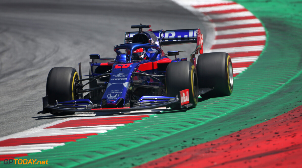 Formula One World Championship Daniil Kvyat (RUS), Scuderia Toro Rosso  29.06.2019. Formula 1 World Championship, Rd 9, Austrian Grand Prix, Spielberg, Austria, Qualifying Day. - www.xpbimages.com, EMail: requests@xpbimages.com - copy of publication required for printed pictures. Every used picture is fee-liable. (C) Copyright: Charniaux / XPB Images Motor Racing - Formula One World Championship - Austrian Grand Prix - Qualifying Day - Spielberg, Austria xpbimages.com Spielberg Austria  Formel1 Formel F1 Formula 1 Formula1 GP Grand Prix one Circuit Austria Austrian Spielberg Zeltweg Saturday June 29 06 6 2019 Practice Action Track