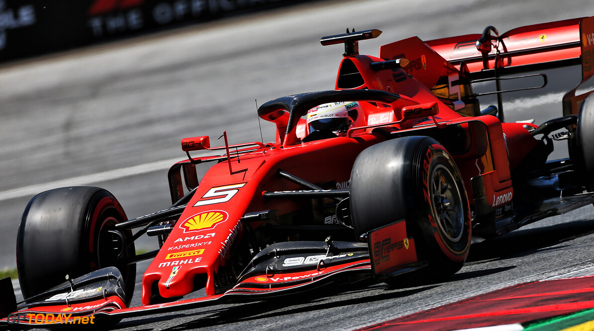 Vettel 'not angry' as air pressure stops pole position chance