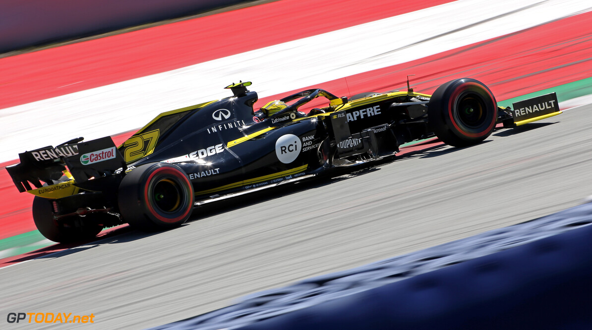 Formula One World Championship Nico Hulkenberg (GER), Renault Sport F1 Team  29.06.2019. Formula 1 World Championship, Rd 9, Austrian Grand Prix, Spielberg, Austria, Qualifying Day. - www.xpbimages.com, EMail: requests@xpbimages.com - copy of publication required for printed pictures. Every used picture is fee-liable. (C) Copyright: Charniaux / XPB Images Motor Racing - Formula One World Championship - Austrian Grand Prix - Qualifying Day - Spielberg, Austria xpbimages.com Spielberg Austria  Formel1 Formel F1 Formula 1 Formula1 GP Grand Prix one Circuit Austria Austrian Spielberg Zeltweg Saturday June 29 06 6 2019 Qualifying Action Track