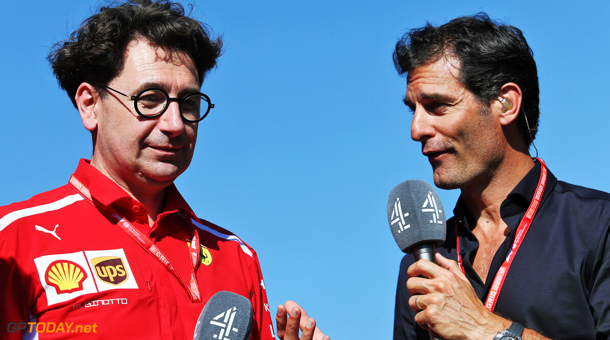 Webber tipping Ferrari for championship success in 2020
