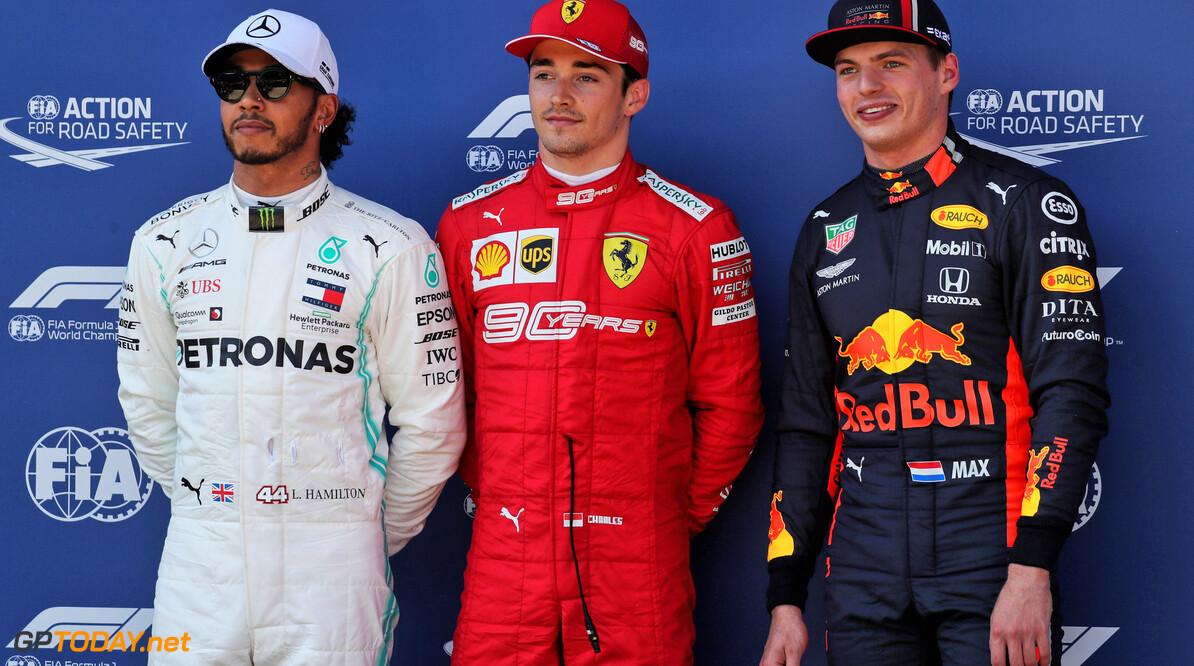 De startgrid voor de Grand Prix van Oostenrijk 2019