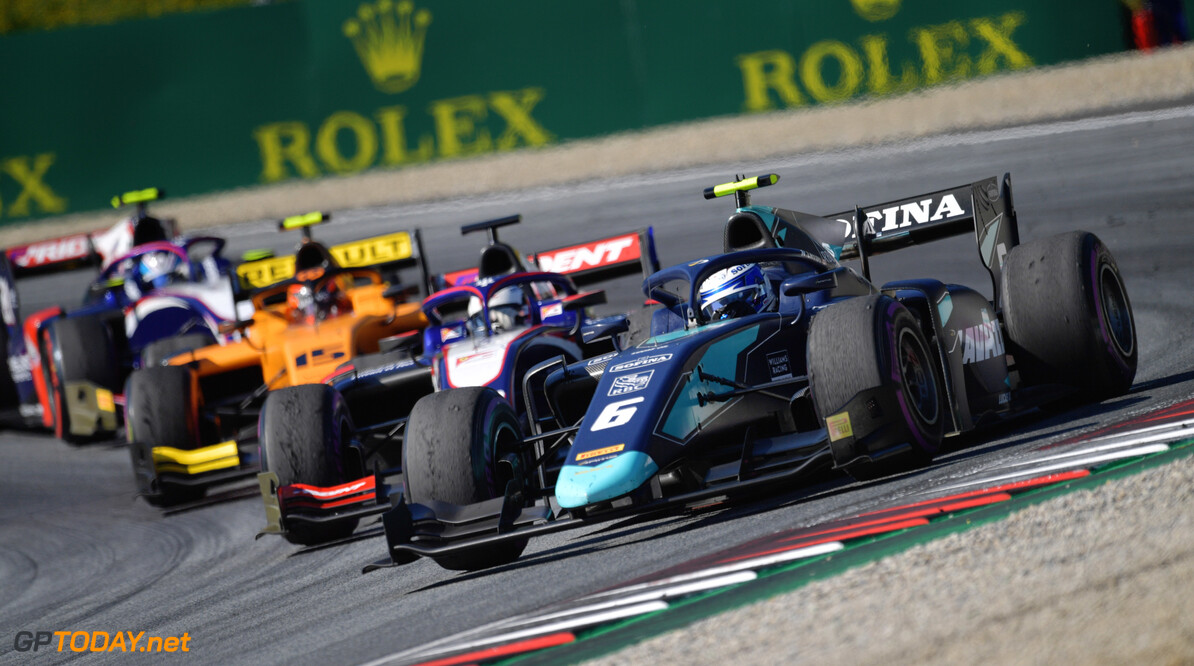 FIA Formula 2 RED BULL RING, AUSTRIA - JUNE 29: Nicholas Latifi (CAN, DAMS) during the Spielberg at Red Bull Ring on June 29, 2019 in Red Bull Ring, Austria. (Photo by Jerry Andre / LAT Images / FIA F2 Championship) FIA Formula 2 Jerry Andre  Austria  action