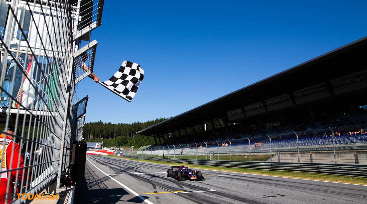 FIA Formula 2 RED BULL RING, AUSTRIA - JUNE 29: Nobuharu Matsushita (JPN, CARLIN) during the Spielberg at Red Bull Ring on June 29, 2019 in Red Bull Ring, Austria. (Photo by Joe Portlock / LAT Images / FIA F2 Championship) FIA Formula 2 Joe Portlock  Austria  FIA Formula 2