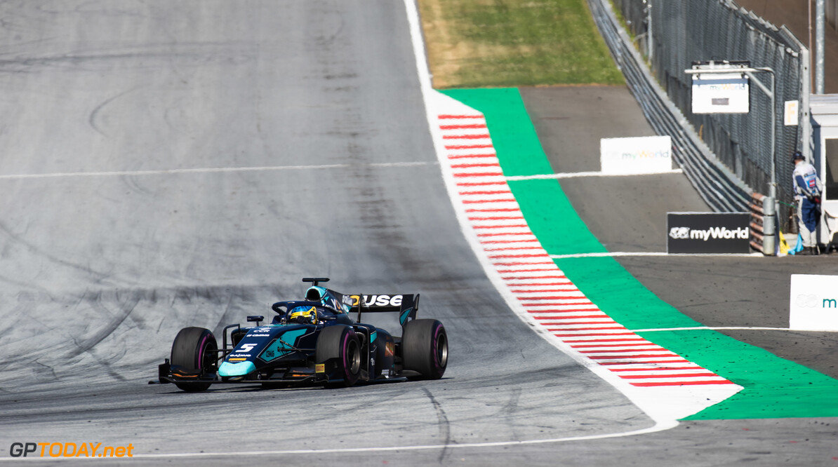 FIA Formula 2 RED BULL RING, AUSTRIA - JUNE 29: Sergio Sette Camara (BRA, DAMS) during the Spielberg at Red Bull Ring on June 29, 2019 in Red Bull Ring, Austria. (Photo by Joe Portlock / LAT Images / FIA F2 Championship) FIA Formula 2 Joe Portlock  Austria  FIA Formula 2