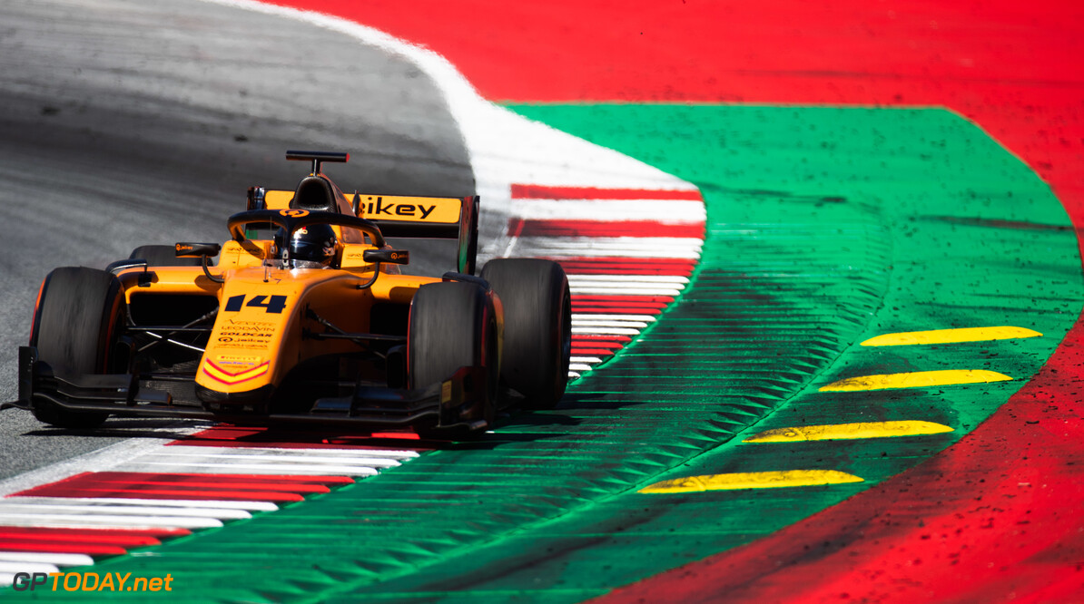FIA Formula 2 RED BULL RING, AUSTRIA - JUNE 29: Arjun Maini (IND, CAMPOS RACING) during the Spielberg at Red Bull Ring on June 29, 2019 in Red Bull Ring, Austria. (Photo by Joe Portlock / LAT Images / FIA F2 Championship) FIA Formula 2 Joe Portlock  Austria  FIA Formula 2