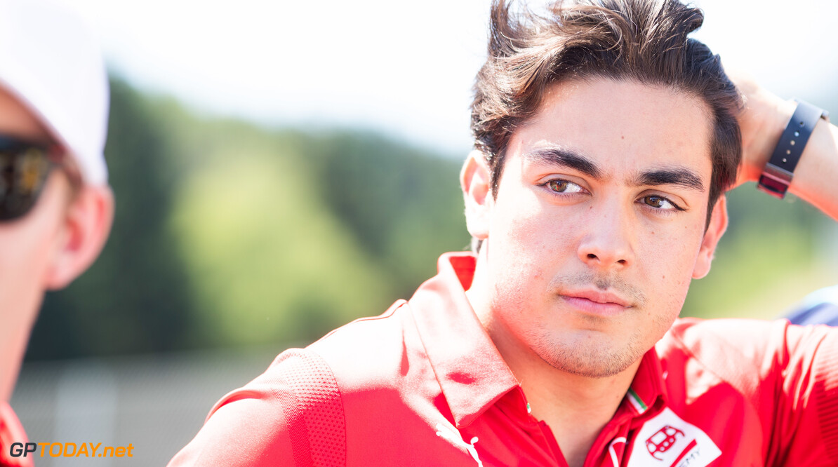 FIA Formula 2 RED BULL RING, AUSTRIA - JUNE 29: Giuliano Alesi (FRA, TRIDENT) during the Spielberg at Red Bull Ring on June 29, 2019 in Red Bull Ring, Austria. (Photo by Joe Portlock / LAT Images / FIA F2 Championship) FIA Formula 2 Joe Portlock  Austria  FIA Formula 2