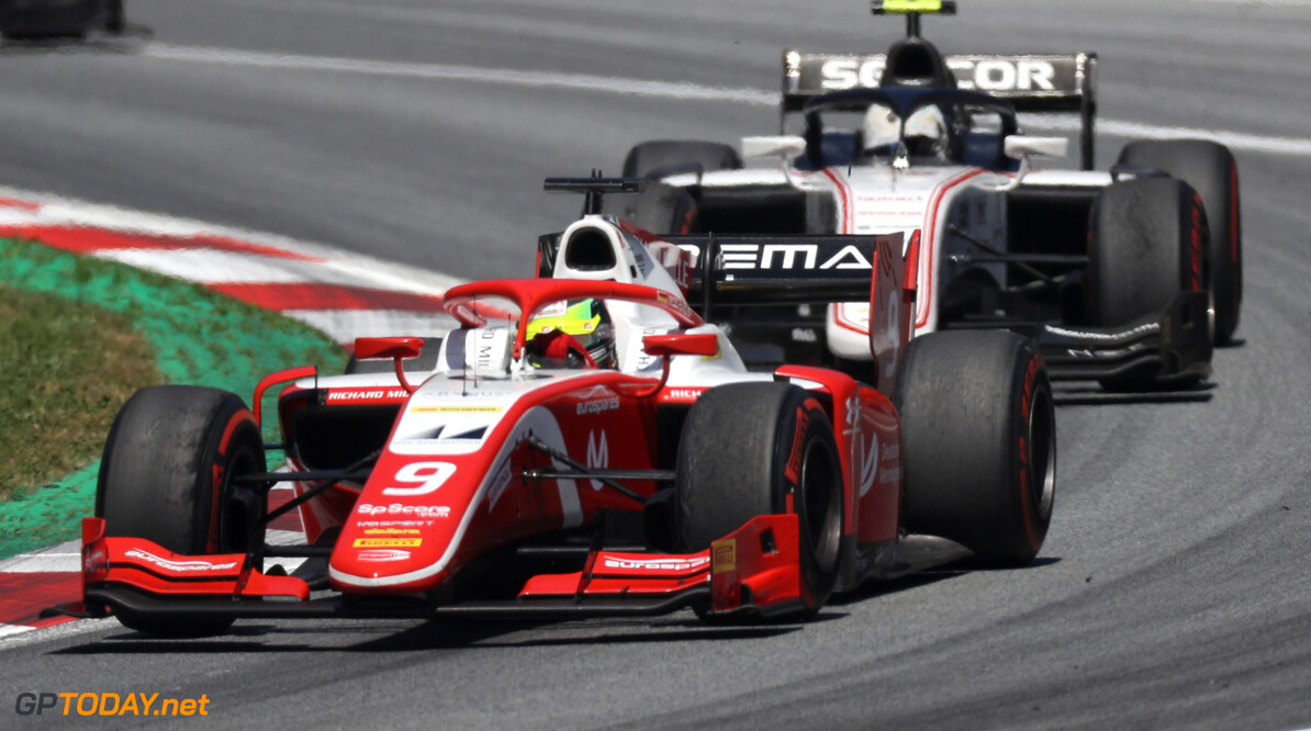 FIA Formula 2 RED BULL RING, AUSTRIA - JUNE 30: Mick Schumacher (DEU, PREMA RACING) during the Spielberg at Red Bull Ring on June 30, 2019 in Red Bull Ring, Austria. (Photo by Jerry Andre / LAT Images / FIA F2 Championship) FIA Formula 2 Jerry Andre  Austria  action race