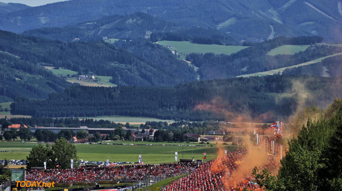 F1 Fans willen massaal naar Oostenrijk