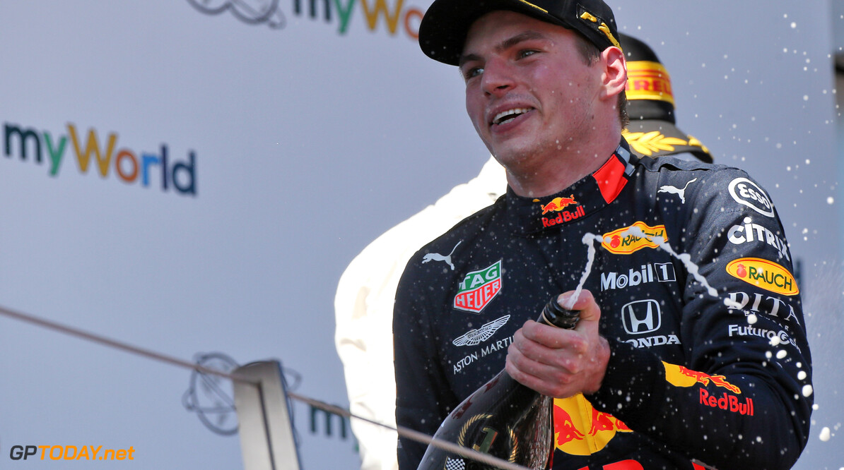 Horner: Verstappen currently the best driver in the world