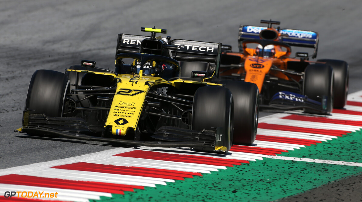 Formula One World Championship Nico Hulkenberg (GER), Renault Sport F1 Team  30.06.2019 Formula 1 World Championship, Rd 9, Austrian Grand Prix, Spielberg, Austria, Race Day. - www.xpbimages.com, EMail: requests@xpbimages.com - copy of publication required for printed pictures. Every used picture is fee-liable. (C) Copyright: Charniaux / XPB Images Motor Racing - Formula One World Championship - Austrian Grand Prix - Race Day - Spielberg, Austria xpbimages.com Spielberg Austria  Formel1 Formel F1 Formula 1 Formula1 GP Grand Prix one Circuit Austria Austrian Spielberg Zeltweg Sunday 30 06 6 2019 June Race Action Track