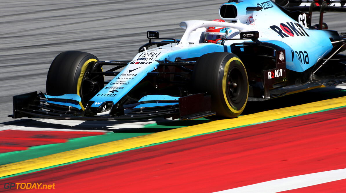 Formula One World Championship George Russell (GBR), Williams F1 Team  30.06.2019 Formula 1 World Championship, Rd 9, Austrian Grand Prix, Spielberg, Austria, Race Day. - www.xpbimages.com, EMail: requests@xpbimages.com - copy of publication required for printed pictures. Every used picture is fee-liable. (C) Copyright: Charniaux / XPB Images Motor Racing - Formula One World Championship - Austrian Grand Prix - Race Day - Spielberg, Austria xpbimages.com Spielberg Austria  Formel1 Formel F1 Formula 1 Formula1 GP Grand Prix one Circuit Austria Austrian Spielberg Zeltweg Sunday 30 06 6 2019 June Race Action Track