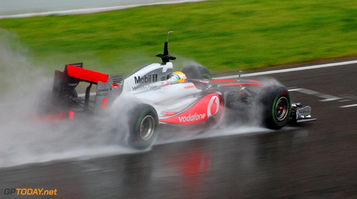 """Hamilton: """"Racetempo niet slecht, maar of we de finish halen..."""""""