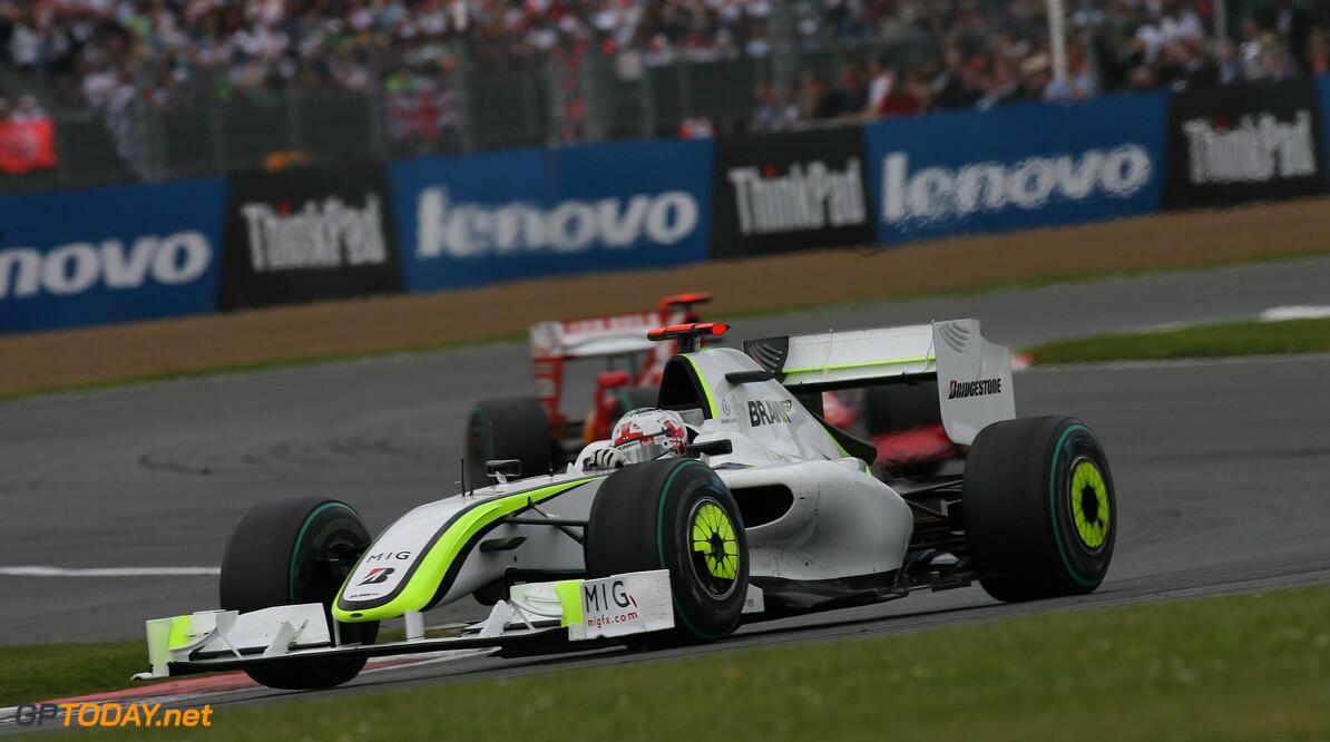 Button to drive championship winning Brawn car at Silverstone