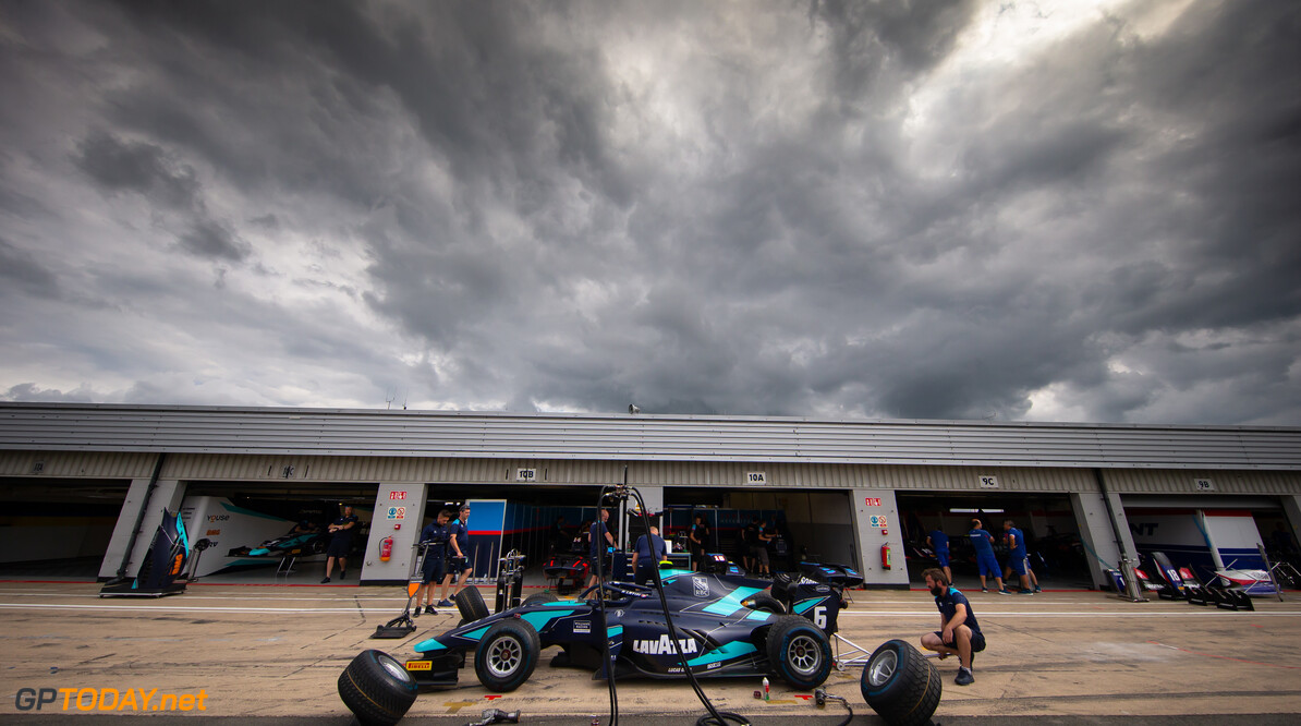 FIA Formula 2 SILVERSTONE, UNITED KINGDOM - JULY 11: Nicholas Latifi (CAN, DAMS) during the Silverstone at Silverstone on July 11, 2019 in Silverstone, United Kingdom. (Photo by Colin McMaster) FIA Formula 2 Colin McMaster  United Kingdom  Action