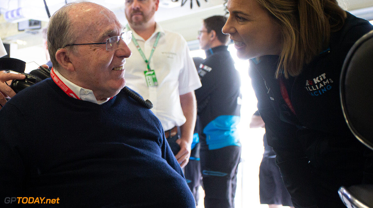 Frank Williams' presence a boost for the team at GP weekends - Williams