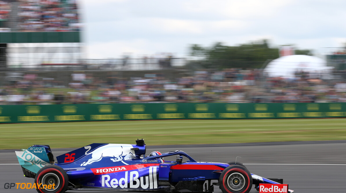 Formula One World Championship Daniil Kvyat (RUS), Scuderia Toro Rosso  12.07.2019. Formula 1 World Championship, Rd 10, British Grand Prix, Silverstone, England, Practice Day. - www.xpbimages.com, EMail: requests@xpbimages.com - copy of publication required for printed pictures. Every used picture is fee-liable. (C) Copyright: Charniaux / XPB Images Motor Racing - Formula One World Championship - British Grand Prix - Practice Day - Silverstone, England XPB Images Silverstone England  Formel1 Formel F1 Formula 1 Formula1 GP Grand Prix one Circuit Silverstone England Britain British United Kingdom UK Friday 12 07 7 2019 Action Track