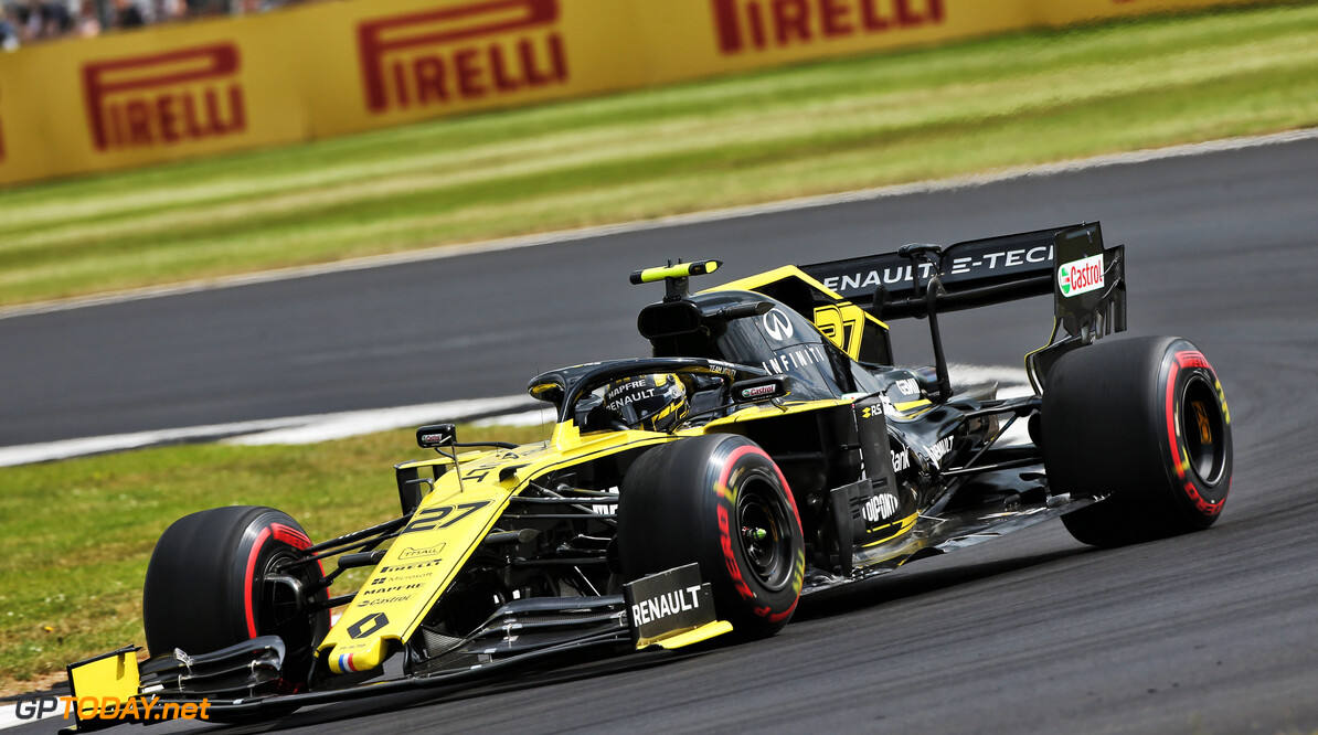 Hulkenberg confident Renault is close to McLaren at Silverstone