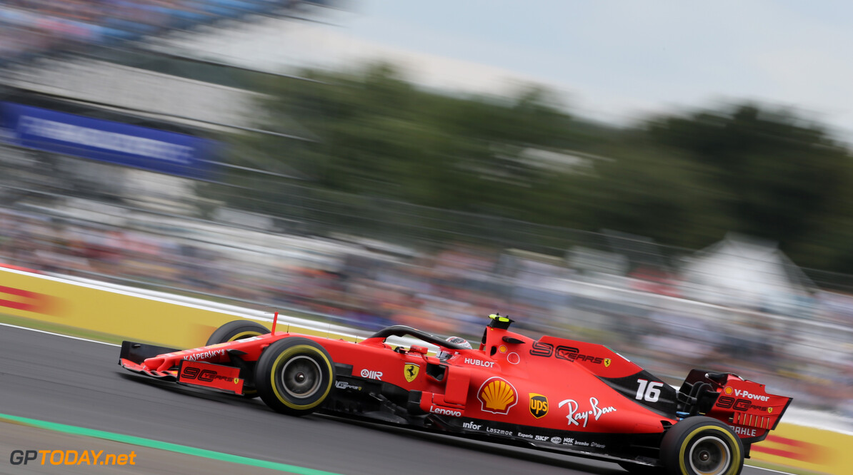 Formula One World Championship Charles Leclerc (FRA), Scuderia Ferrari  12.07.2019. Formula 1 World Championship, Rd 10, British Grand Prix, Silverstone, England, Practice Day. - www.xpbimages.com, EMail: requests@xpbimages.com - copy of publication required for printed pictures. Every used picture is fee-liable. (C) Copyright: Charniaux / XPB Images Motor Racing - Formula One World Championship - British Grand Prix - Practice Day - Silverstone, England XPB Images Silverstone England  Formel1 Formel F1 Formula 1 Formula1 GP Grand Prix one Circuit Silverstone England Britain British United Kingdom UK Friday 12 07 7 2019 Action Track