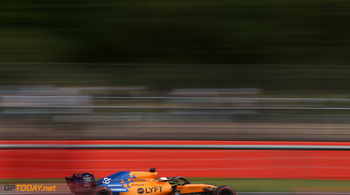 Formula One World Championship Carlos Sainz Jr (ESP), McLaren F1 Team  12.07.2019. Formula 1 World Championship, Rd 10, British Grand Prix, Silverstone, England, Practice Day. - www.xpbimages.com, EMail: requests@xpbimages.com - copy of publication required for printed pictures. Every used picture is fee-liable. (C) Copyright: Charniaux / XPB Images Motor Racing - Formula One World Championship - British Grand Prix - Practice Day - Silverstone, England XPB Images Silverstone England  Formel1 Formel F1 Formula 1 Formula1 GP Grand Prix one Circuit Silverstone England Britain British United Kingdom UK Friday 12 07 7 2019 Action Track