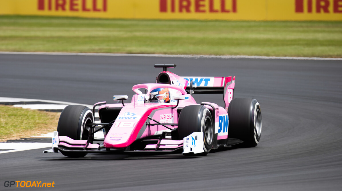 FIA Formula 2 SILVERSTONE, UNITED KINGDOM - JULY 12: Tatiana Calderon (COL, BWT ARDEN) during the Silverstone at Silverstone on July 12, 2019 in Silverstone, United Kingdom. (Photo by Joe Portlock / LAT Images / FIA F2 Championship) FIA Formula 2 Joe Portlock  United Kingdom  FIA Formula 2