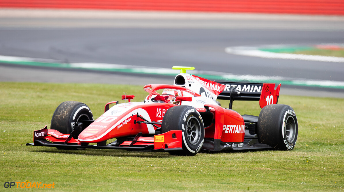 FIA Formula 2 SILVERSTONE, UNITED KINGDOM - JULY 12: Sean Gelael (IDN,PREMA RACING) during the Silverstone at Silverstone on July 12, 2019 in Silverstone, United Kingdom. (Photo by Joe Portlock / LAT Images / FIA F2 Championship) FIA Formula 2 Joe Portlock  United Kingdom  FIA Formula 2