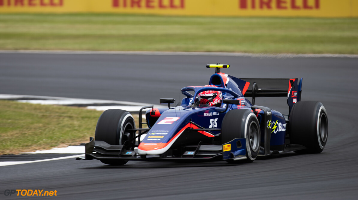 FIA Formula 2 SILVERSTONE, UNITED KINGDOM - JULY 12: Nobuharu Matsushita (JPN, CARLIN) during the Silverstone at Silverstone on July 12, 2019 in Silverstone, United Kingdom. (Photo by Joe Portlock / LAT Images / FIA F2 Championship) FIA Formula 2 Joe Portlock  United Kingdom  FIA Formula 2
