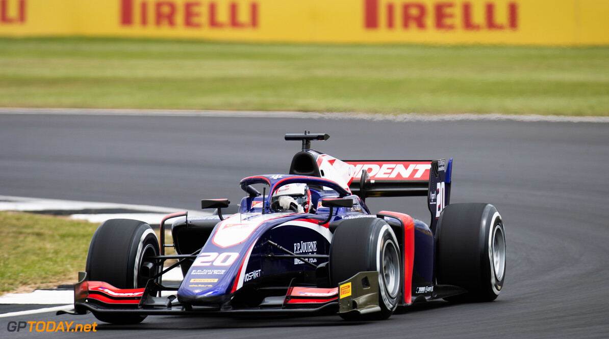 FIA Formula 2 SILVERSTONE, UNITED KINGDOM - JULY 12: Giuliano Alesi (FRA, TRIDENT) during the Silverstone at Silverstone on July 12, 2019 in Silverstone, United Kingdom. (Photo by Joe Portlock / LAT Images / FIA F2 Championship) FIA Formula 2 Joe Portlock  United Kingdom  FIA Formula 2