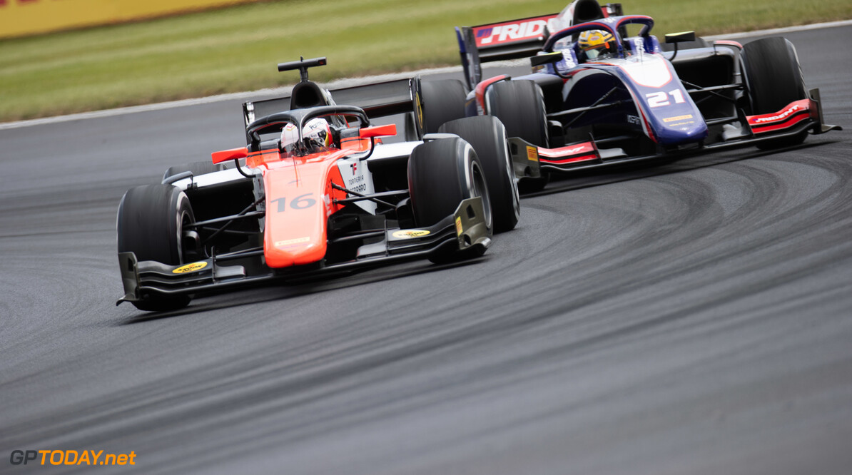 FIA Formula 2 SILVERSTONE, UNITED KINGDOM - JULY 12: Jordan King (GBR, MP MOTORSPORT) during the Silverstone at Silverstone on July 12, 2019 in Silverstone, United Kingdom. (Photo by Joe Portlock / LAT Images / FIA F2 Championship) FIA Formula 2 Joe Portlock  United Kingdom  FIA Formula 2