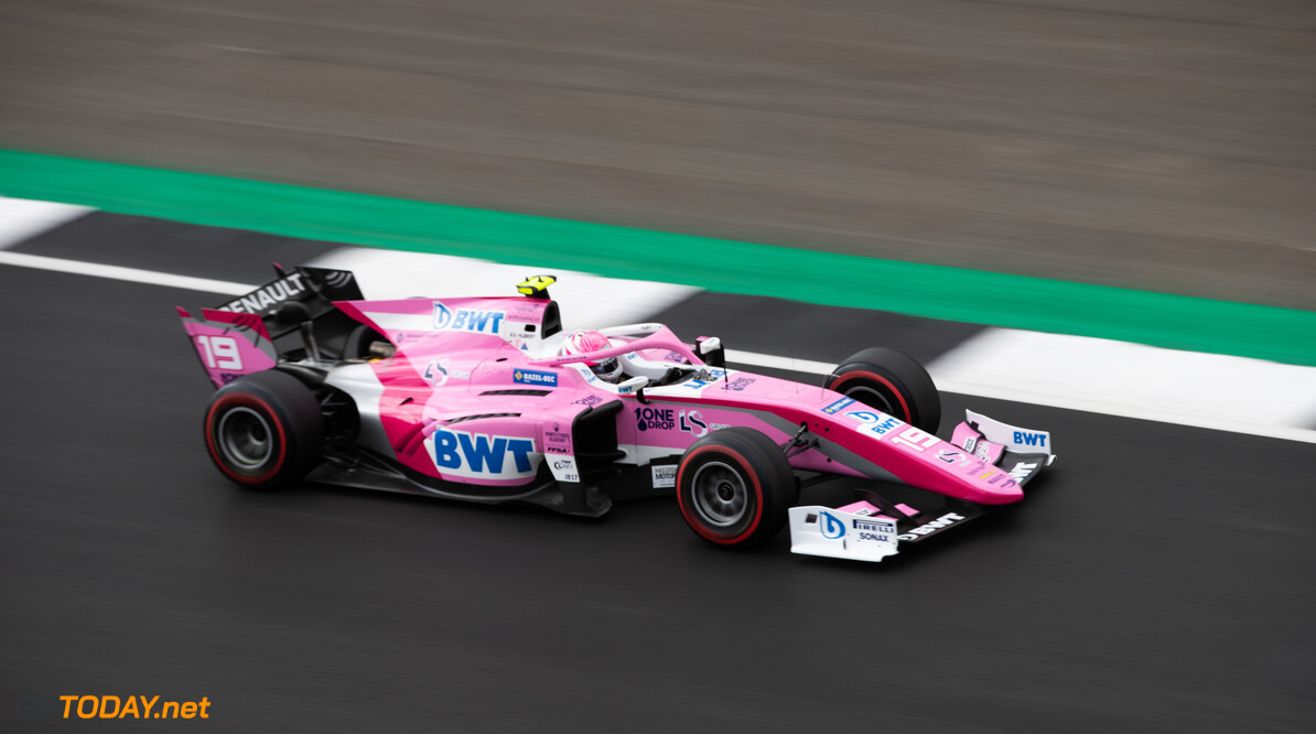 FIA Formula 2 SILVERSTONE, UNITED KINGDOM - JULY 12: Anthoine Hubert (FRA, BWT ARDEN) during the Silverstone at Silverstone on July 12, 2019 in Silverstone, United Kingdom. (Photo by Joe Portlock / LAT Images / FIA F2 Championship) FIA Formula 2 Joe Portlock  United Kingdom  FIA Formula 2