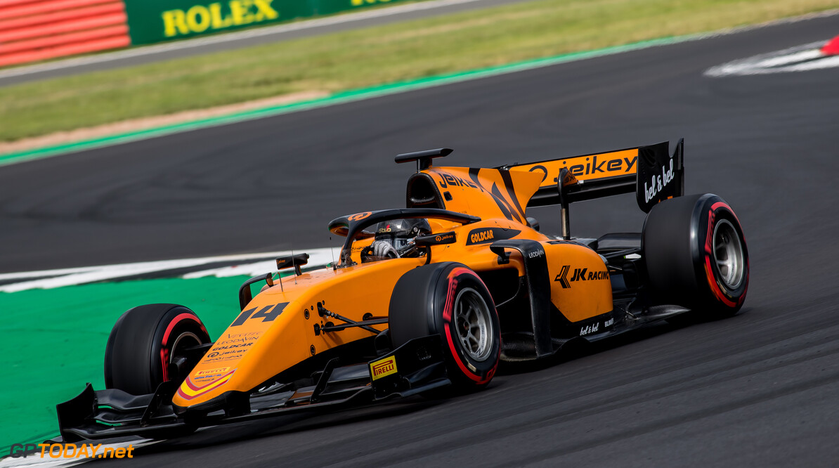 FIA Formula 2 SILVERSTONE, UNITED KINGDOM - JULY 12: Arjun Maini (IND, CAMPOS RACING) during the Silverstone at Silverstone on July 12, 2019 in Silverstone, United Kingdom. (Photo by Colin McMaster) FIA Formula 2 Colin McMaster  United Kingdom  Action