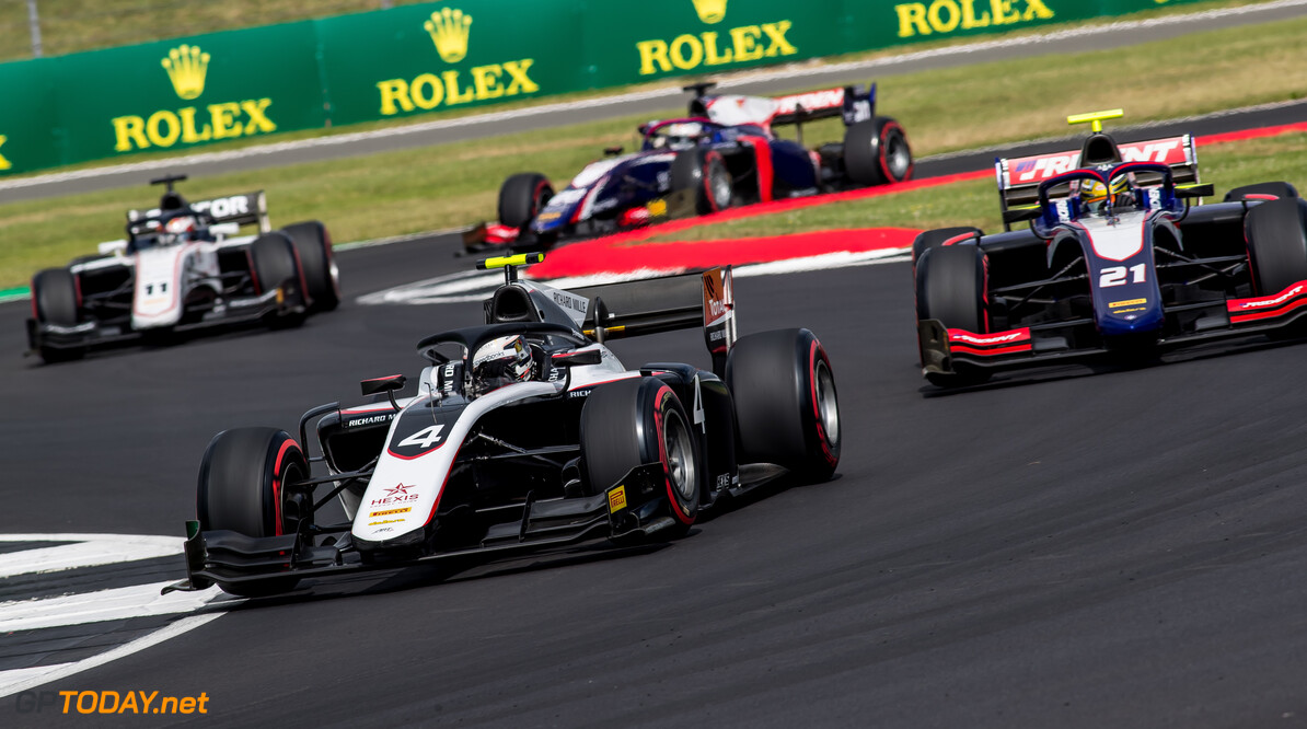 FIA Formula 2 SILVERSTONE, UNITED KINGDOM - JULY 12: Nyck De Vries (NLD, ART GRAND PRIX) during the Silverstone at Silverstone on July 12, 2019 in Silverstone, United Kingdom. (Photo by Colin McMaster) FIA Formula 2 Colin McMaster  United Kingdom  Action