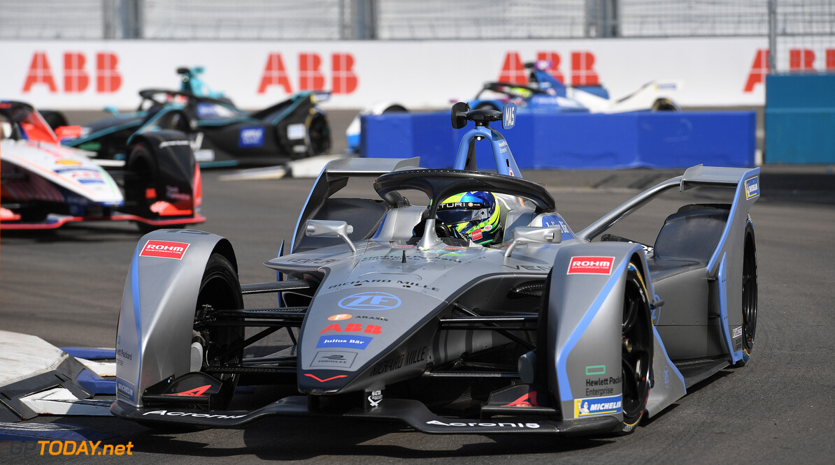 2019 New York City E-prix I BROOKLYN STREET CIRCUIT, UNITED STATES OF AMERICA - JULY 12: Felipe Massa (BRA), Venturi Formula E, Venturi VFE05 during the New York City E-prix I at Brooklyn Street Circuit on July 12, 2019 in Brooklyn Street Circuit, United States of America. (Photo by Sam Bagnall / LAT Images) 2019 New York City E-prix I Sam Bagnall New York United States of America  action electric FE open wheel