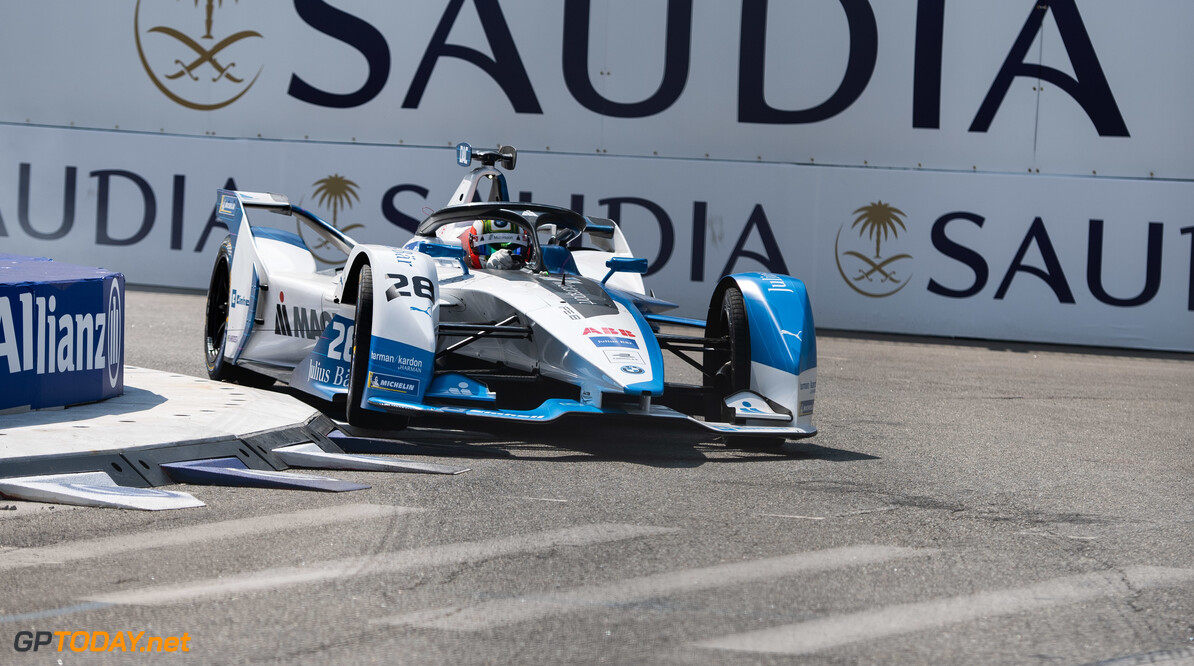 2019 New York City E-prix I BROOKLYN STREET CIRCUIT, UNITED STATES OF AMERICA - JULY 12: Antonio Felix da Costa (PRT), BMW I Andretti Motorsports, BMW iFE.18 during the New York City E-prix I at Brooklyn Street Circuit on July 12, 2019 in Brooklyn Street Circuit, United States of America. (Photo by Simon Galloway / LAT Images) 2019 New York City E-prix I Simon Galloway  United States of America  action electric FE open wheel
