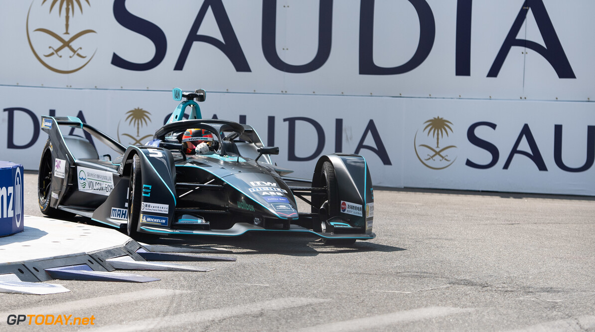2019 New York City E-prix I BROOKLYN STREET CIRCUIT, UNITED STATES OF AMERICA - JULY 12: Stoffel Vandoorne (BEL), HWA Racelab, VFE-05 during the New York City E-prix I at Brooklyn Street Circuit on July 12, 2019 in Brooklyn Street Circuit, United States of America. (Photo by Simon Galloway / LAT Images) 2019 New York City E-prix I Simon Galloway  United States of America  action electric FE open wheel